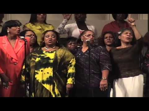 Greg C Jackson directs the Back to Pacoima Reunion Choir 2010