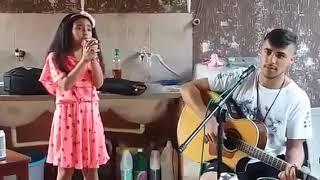 Minha sobrinha linda Deborah e William Bruno Lima cantando juntos 👏👏❤❤😗😗