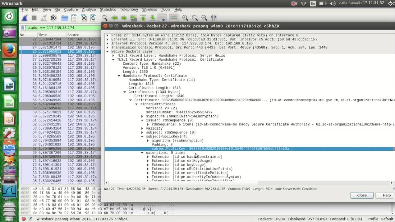 Ssl Tls Traffic Analysis With Wireshark Youtube