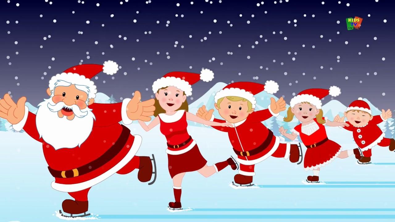 Santa Clause Finger Family   Nursery Rhyme   Christmas Song   Songs For Kids   Finger Family ...