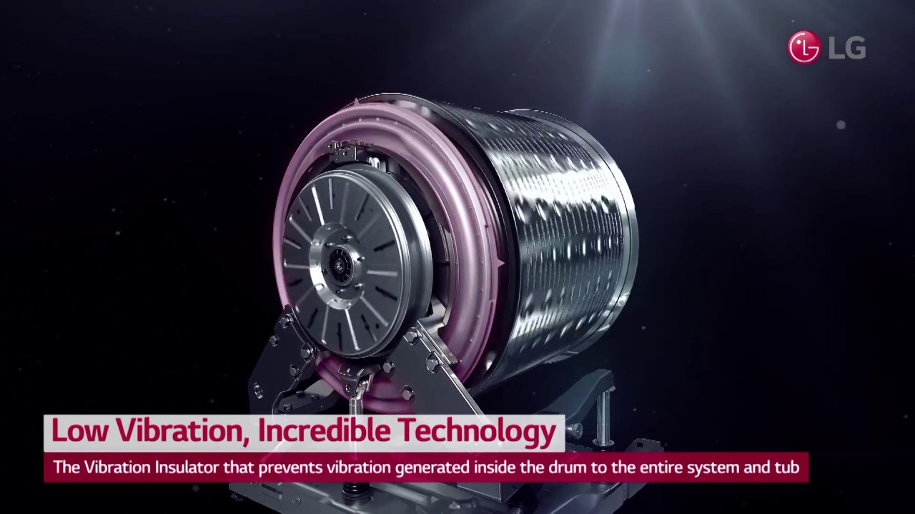 LG Centum System™ Washing Machine User Scene Video / Low Vibration,  Incredible Technology
