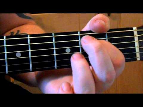 Christy Moore - Ride on Guitar Lesson