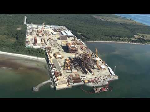 Geofund - Obra Cais Offshore Pontal (Techint)