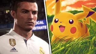 FIFA 18 E NOVO JOGO DE POKEMON