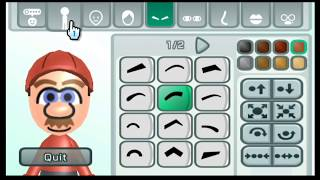 Mii Maker How to make Mario Mii (Mario Bros) Free Tutorial - Nintendo Switch/Wii/3DS/WiiU