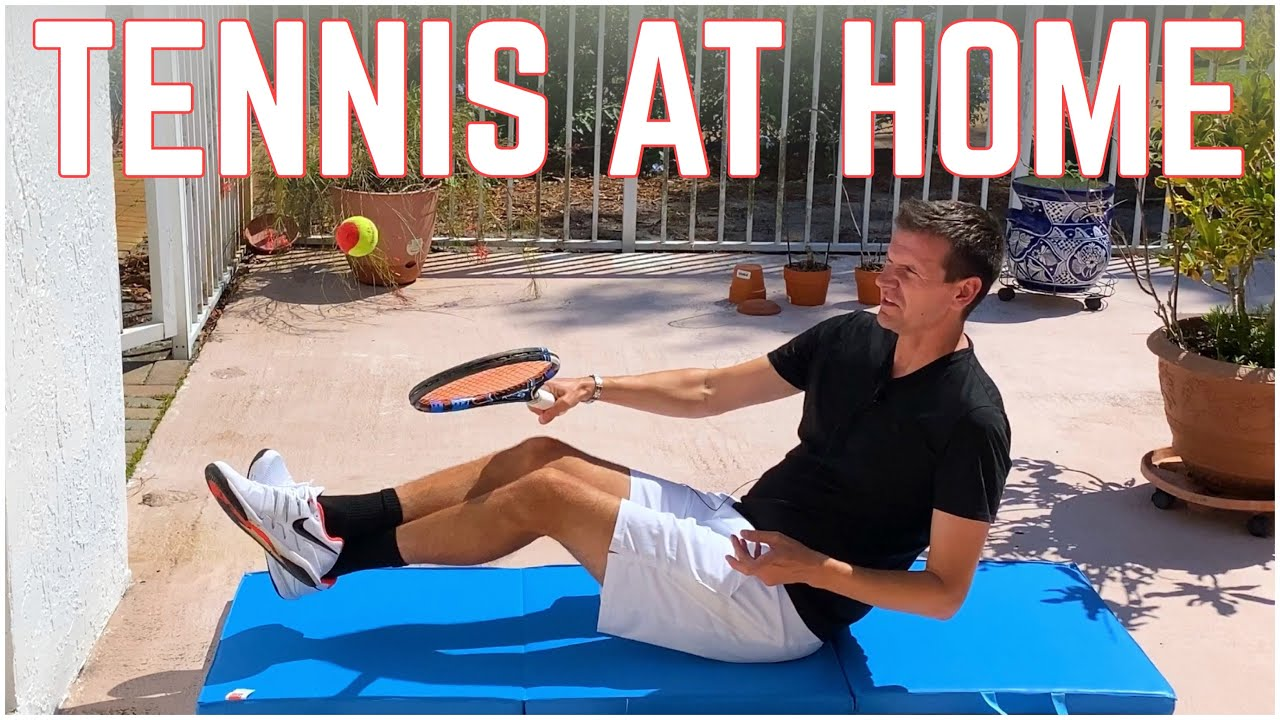 How to Practice Tennis at Home ??   Off the Court Tennis Drills