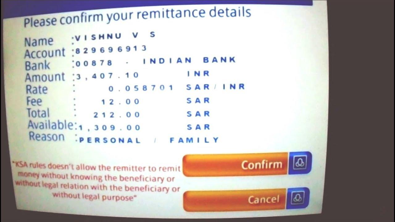 Transfer Money To India From Saudi Arabia