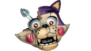Drawing Withered Candy Cat from FNaC Preview