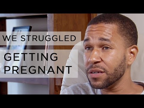 """""""The process of getting pregnant was hard"""" - Aaron White 