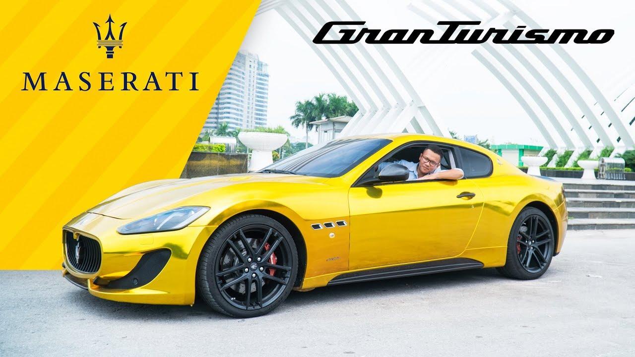 Siêu xe phong cách Dubai của dân chơi Việt – Maserati GranTurismo