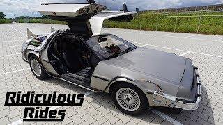 I Drive My DeLorean With A Remote Control | RIDICULOUS RIDES