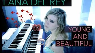 Lana Del Rey - Young and Beautiful (keyboard cover)