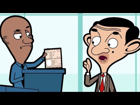 At The Airport   Funny Episodes   Mr Bean Cartoon World
