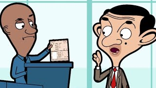 At the Airport | Funny Episodes | Mr Bean Cartoon World