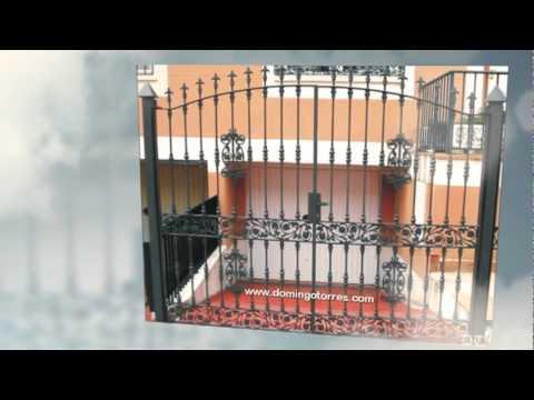 Ejemplos de puertas y cancelas de forja domingo torres s - Forja domingo torres ...