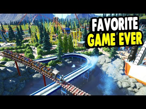 Best & Favorite Building Game Ever | Our Biggest Park Build | Planet Coaster Gameplay