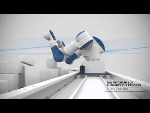 Robot YASKAWA MOTOMA SDA