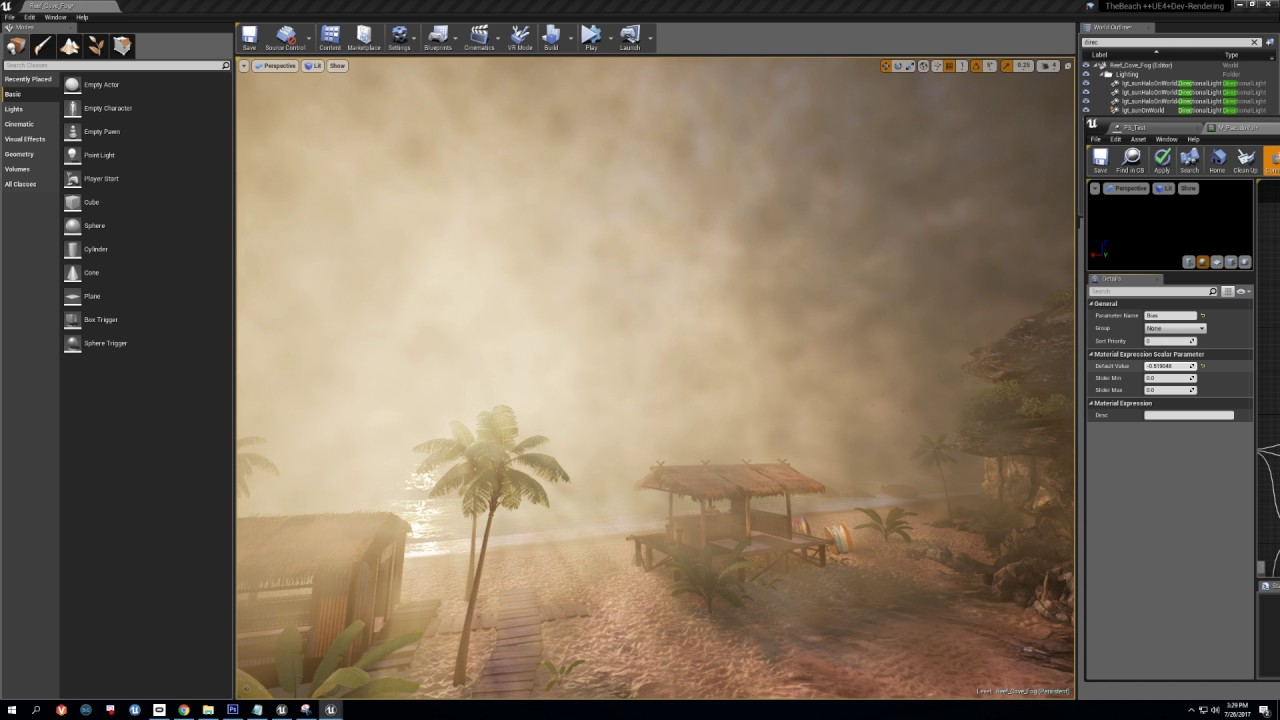 UE4 Volumetric Fog Techniques