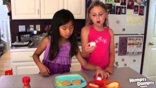 Kid Chefs Make Apple S'mores
