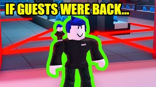 If GUESTS were BACK in 2020... | Roblox Jailbreak