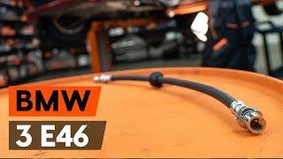 Como e quando mudar Mangueira de freio traseiro e dianteiro BMW 3 Convertible (E46): vídeo tutorial