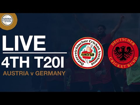 🔴  Live T20 International | Austria V Germany 4th Women's T20I | Cricket Live Stream