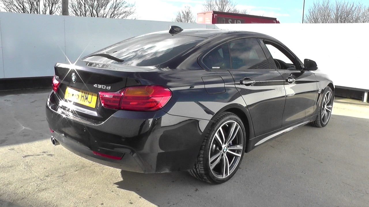bmw 4 series 430d xdrive m sport 5dr auto professional media u26761 youtube. Black Bedroom Furniture Sets. Home Design Ideas