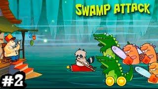 Swamp Attack Свамп Атак #2 Нападают крокодилы и животные Мультики Attack the crocodiles and animals(Swamp Attack Свамп Атак #2 Нападают крокодилы и животные Мультики Attack the crocodiles and animals. Защити свой дом! Твою болотну..., 2016-12-16T07:00:00.000Z)