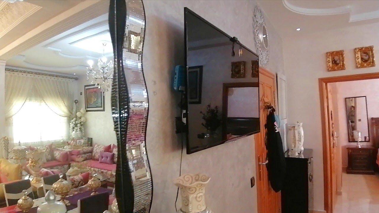 فرصة العمر شقة رائعة للبيع مجهزة مفرشة بأحسن الأثاث فإقامة بسانسور وباركين طونوبيل 0670652897