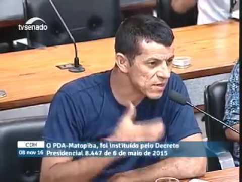 Pronunciamento do Professor Iremar, de Corretina, sobre o Matopiba e a destruição ambiental