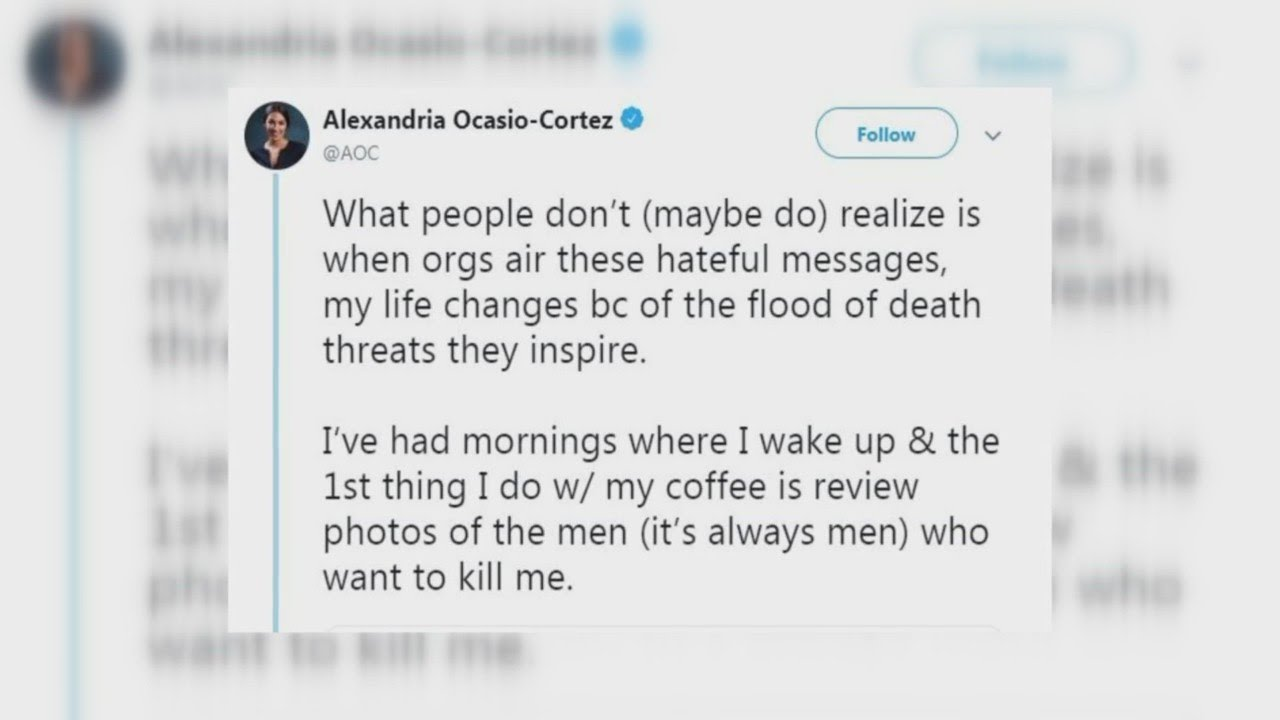 Rep. Ocasio-Cortez responds to 'offensive' video played during Fresno Grizzlies game