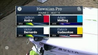 2016 Hawaiian Pro: Round Three Heat 15