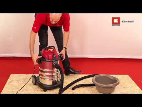 L'aspirateur eau et poussières Einhell