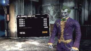 Batman Arkham Asylum: Joker Challenge 1 - Maximum Punishment (No damage)