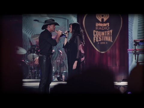 Back Stage at iHeartCountry | McGraw