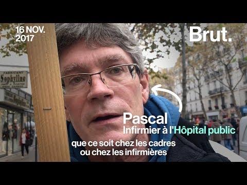 Pascal, infirmier à l'hôpital public, dénonce l'évolution des conditions de travail