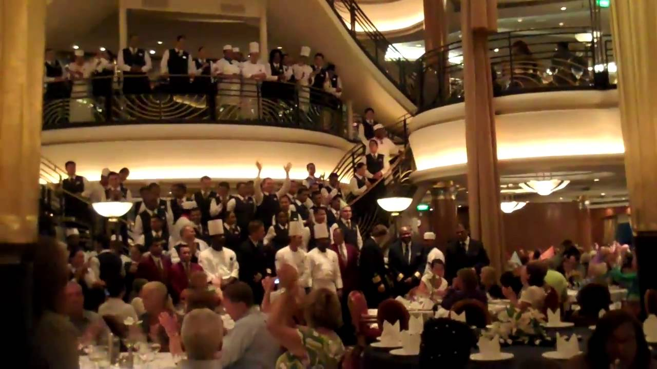 Cruise 34 Gala Dinner Youtube