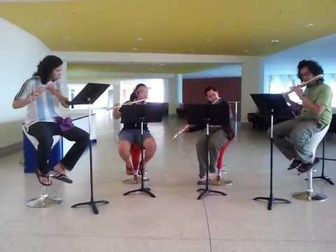 Jingle bell Flute Quartet