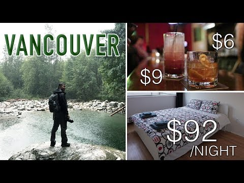 VANCOUVER Travel | Total Cost of a 4 Night Trip? AirBNB | FOOD | NIGHTLIFE| TRANSPORTATION