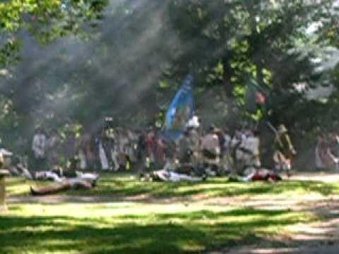 Part 4: Battle Of Germantown Revolutionary War Reenactment In Germantown, PA On October 2, 2010