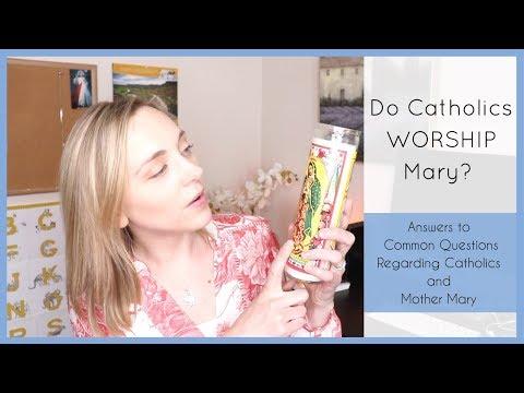 MARY and the Catholic Church - No Idolatry Here! Just Love