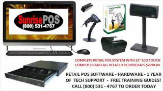 Sunrisepos has been selling, installing and supporting the comcash retail pos software for over 11 years. it is a complete solution a...