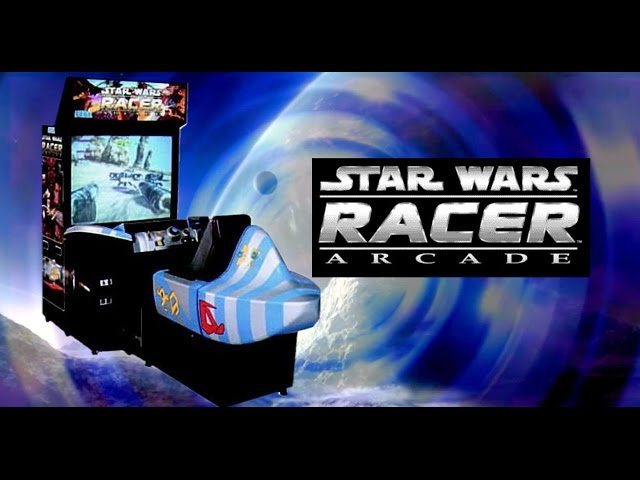 RGVX Goes Star Wars Podracing ( Arcade Machine)