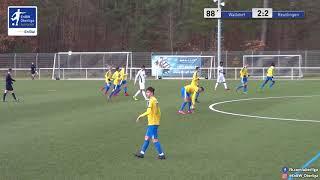 A-Junioren - 2:2 - Marvin Benefo - FC-Astoria Walldorf gegen SSV Reutlingen 1905 Fußball