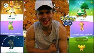 MY FIRST GENERATION 4 ADVENTURE! (Pokémon GO)