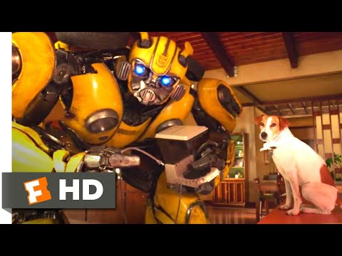 Bumblebee (2018) - Wrecking the House Scene (6/10) | Movieclips