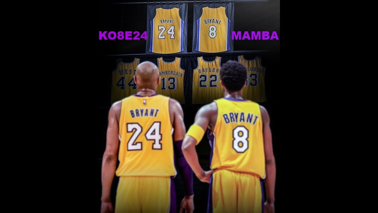 check out 4d0bc dfd91 Kobe Bryant: The PERFECT Player To Retire Both Jersey Numbers