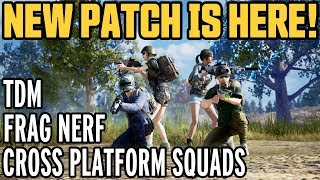 PUBG XBOX ONE & PUBG PS4 CROSSPLAY + Team Deathmatch // Huge console update