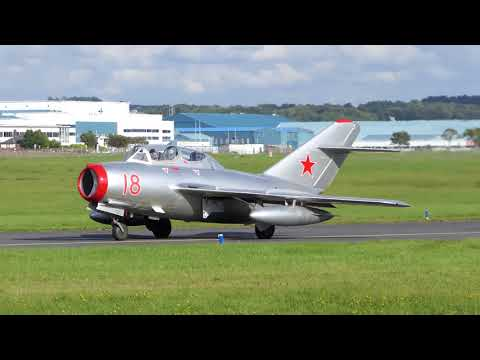 MIG 15 - Scottish Airshow 2017 - [4K/UHD]