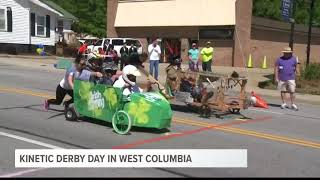 Kinetic Derby Day Held in West Columbia